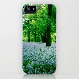 Violet Fields 2 iPhone Case