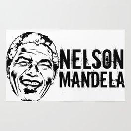 Nelson Mandela South African anti-apartheid revolutionary, political leader, and philanthropist Rug