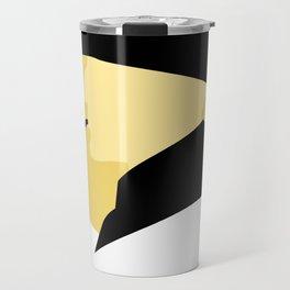 Sherlock Holmes Cameo Profile Art Travel Mug