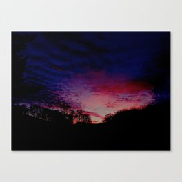 """Winter Sky"" Canvas Print"
