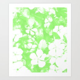 Green Has It! Art Print