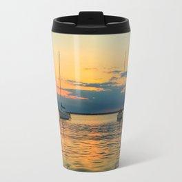 (Sailboats) At Bay Travel Mug