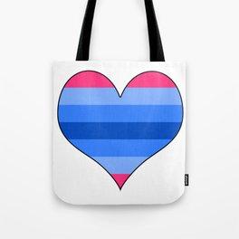 Trans Man Heart Tote Bag