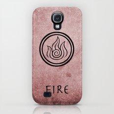 Avatar Last Airbender Elements - Fire Slim Case Galaxy S4