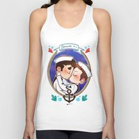glee Tank Tops featuring Sailor by Sunshunes