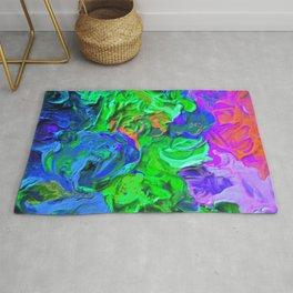 Swirled Abstract Rug
