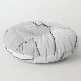 Sheets of Paper Floor Pillow