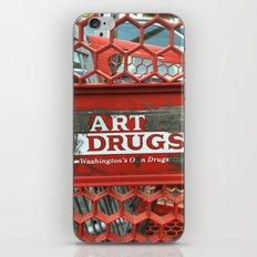 Art Drugs iPhone Skin