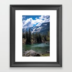 Something to write home about Framed Art Print