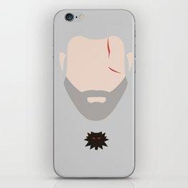 Minimalist Geralt of Rivea - The Witcher iPhone Skin