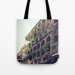 French Quarter Balconies - Royal Street Tote Bag