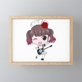 band-maid Miku Framed Mini Art Print
