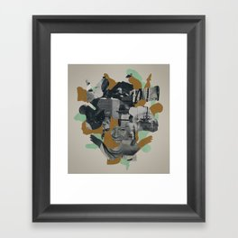 A Relapse in Consciousness Framed Art Print