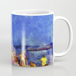 Istanbul At Night Van Gogh Coffee Mug