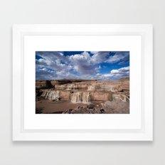 Grand Falls Framed Art Print