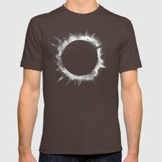 Eclipse 1 Mens Fitted Tee Brown MEDIUM