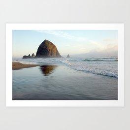 cannon beach II Art Print