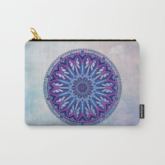 Iris Mandala Carry-All Pouch