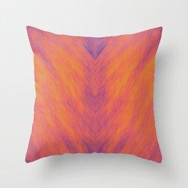 Blazed Throw Pillow
