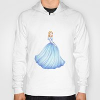 cinderella Hoodies featuring Cinderella by Maëlle Rajoelisolo