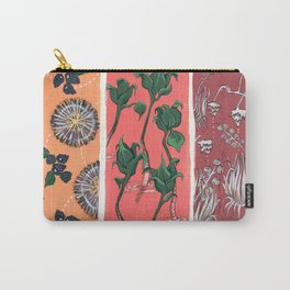 Cool Hues on Warm Background Carry-All Pouch