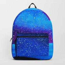 Far city under the stars Backpack