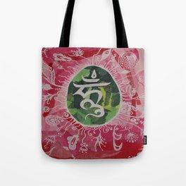 Om Meditation. Tote Bag