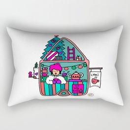 Tiny House Rectangular Pillow