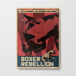 Boxer Rebellion  Metal Print