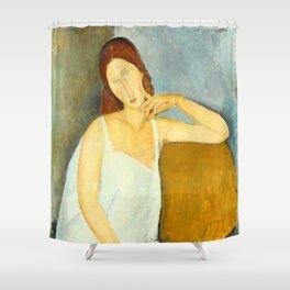 Amedeo Modigliani - Jeanne Hébuterne Shower Curtain
