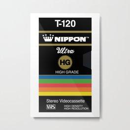 NIPPON VHS Metal Print