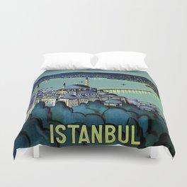Golden Horn Istanbul Duvet Cover