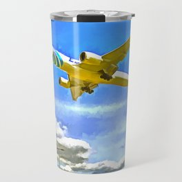 Airliner Pop Art Travel Mug