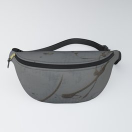 Black And Gray Abstract Jackson Pollock Inspired Study In Black - Gothic Glam - Corbin Henry Fanny Pack