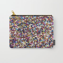Colorful Rainbow Sequins Carry-All Pouch