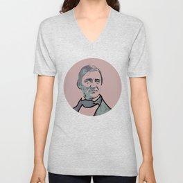 Ralph Waldo Emerson Unisex V-Neck