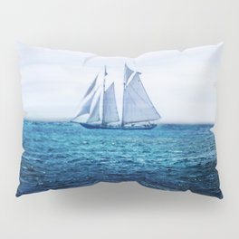 Sailing Ship on the Sea Pillow Sham
