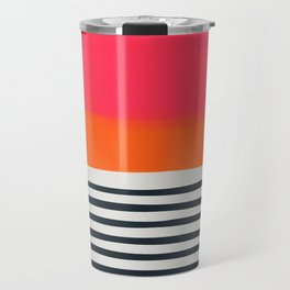 Sunset Ripples Travel Mug
