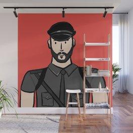 Beard Boy: Alberto Wall Mural