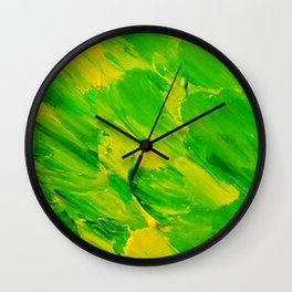 Lapeda Textile Art - 6 Wall Clock