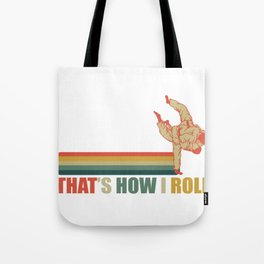 Karate Gaypride Rainbow How I Roll Gift Tote Bag