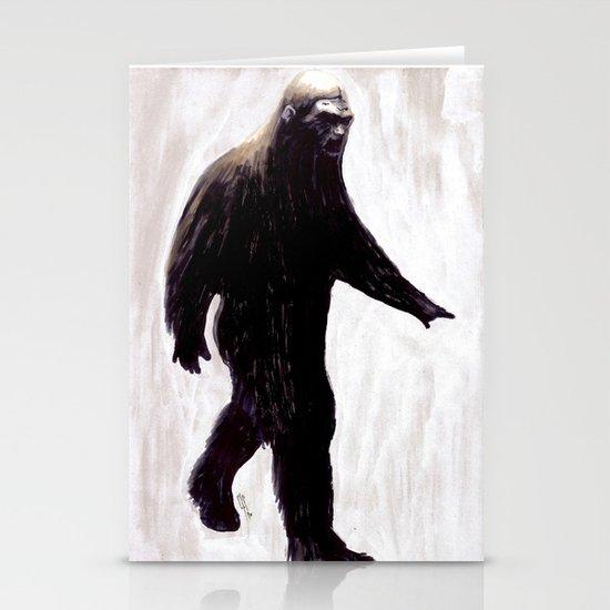 Bigfoot Stationery Cards