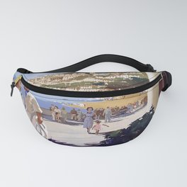 Railwayposter Weston super Mare Fanny Pack