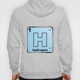 Hydrogen From The Periodic Table Hoody