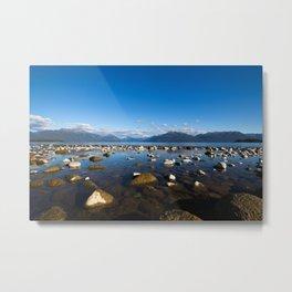 Lake Te Anau, New Zealand Metal Print