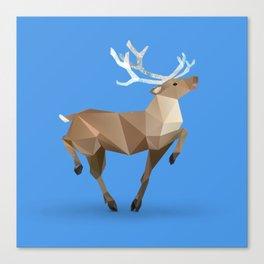 Reindeer. (Prancer) Canvas Print