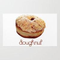doughnut Area & Throw Rugs featuring Doughnut by lumvina
