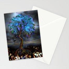 Skull Tree Stationery Cards
