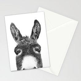 Hey Donkey BW Stationery Cards