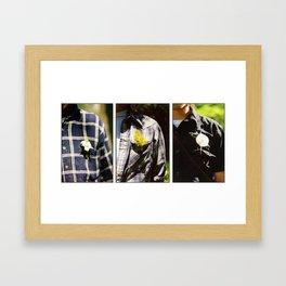 \/| Framed Art Print